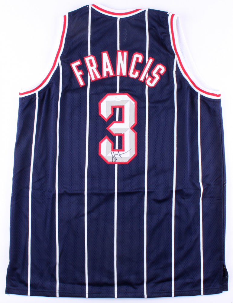 032459e50c9 Steve Francis Signed Rockets Jersey (JSA COA) at PristineAuction.com