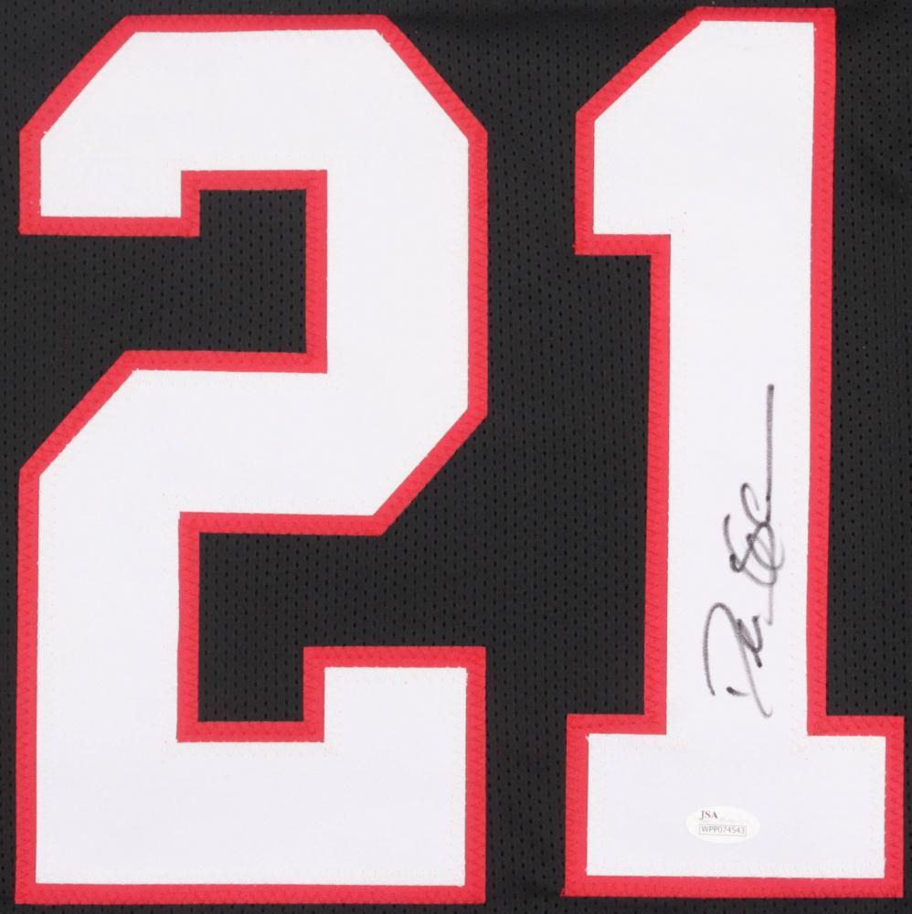 af8b952b868 Deion Sanders Signed Atlanta Falcons Jersey (JSA COA) at PristineAuction.com