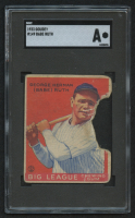 1933 Goudey #149 Babe Ruth RC (SGC Authentic)