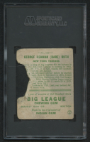 1933 Goudey #149 Babe Ruth RC (SGC Authentic) at PristineAuction.com