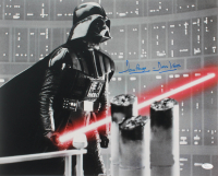 """David Prowse Signed """"Star Wars: The Empire Strikes Back"""" 16x20 Photo Inscribed """"Darth Vader"""" (JSA COA) at PristineAuction.com"""