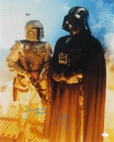 "David Prowse & Jeremy Bulloch Signed ""Star Wars: The Empire Strikes Back"" 16x20 Photo Inscribed ""Darth Vader"" & ""Boba Fett"" (JSA COA) at PristineAuction.com"