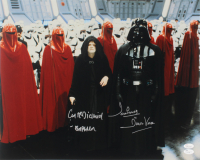 """Ian McDiarmid & David Prowse Signed """"Star Wars: Return Of The Jedi"""" 16x20 Photo Inscribed """"Emperor"""" & """"Is Darth Vader"""" (JSA COA) at PristineAuction.com"""
