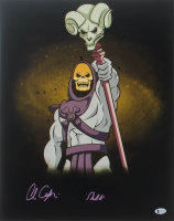 """Alan Oppenheimer Signed """"He-Man and the Masters of the Universe"""" 16x20 Photo Inscribed """"Skeletor"""" (Beckett COA) at PristineAuction.com"""