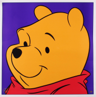"Pooh ""Winnie The Pooh"" LE 1997 Walt Disney 23.5x23.5 Lithograph at PristineAuction.com"