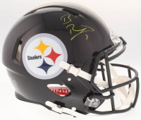 Ben Roethlisberger Signed Pittsburgh Steelers Full-Size Authentic On-Field Speed Helmet (Fanatics Hologram)