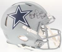 Ezekiel Elliott Signed Cowboys Authentic On-Field Full-Size Speed Helmet (Beckett COA) at PristineAuction.com