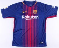 """Lionel Messi Signed Barcelona Nike Jersey Inscribed """"Leo"""" (Beckett COA) at PristineAuction.com"""