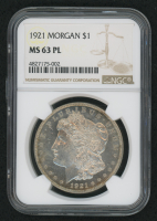 1921 $1 Morgan Silver Dollar (NGC MS 63 Proof Like)
