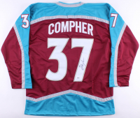 J. T. Compher Signed Jersey (Beckett COA) at PristineAuction.com