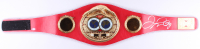 Floyd Mayweather Jr. Signed Full-Size IBF Heavyweight Championship Belt (Beckett COA) at PristineAuction.com
