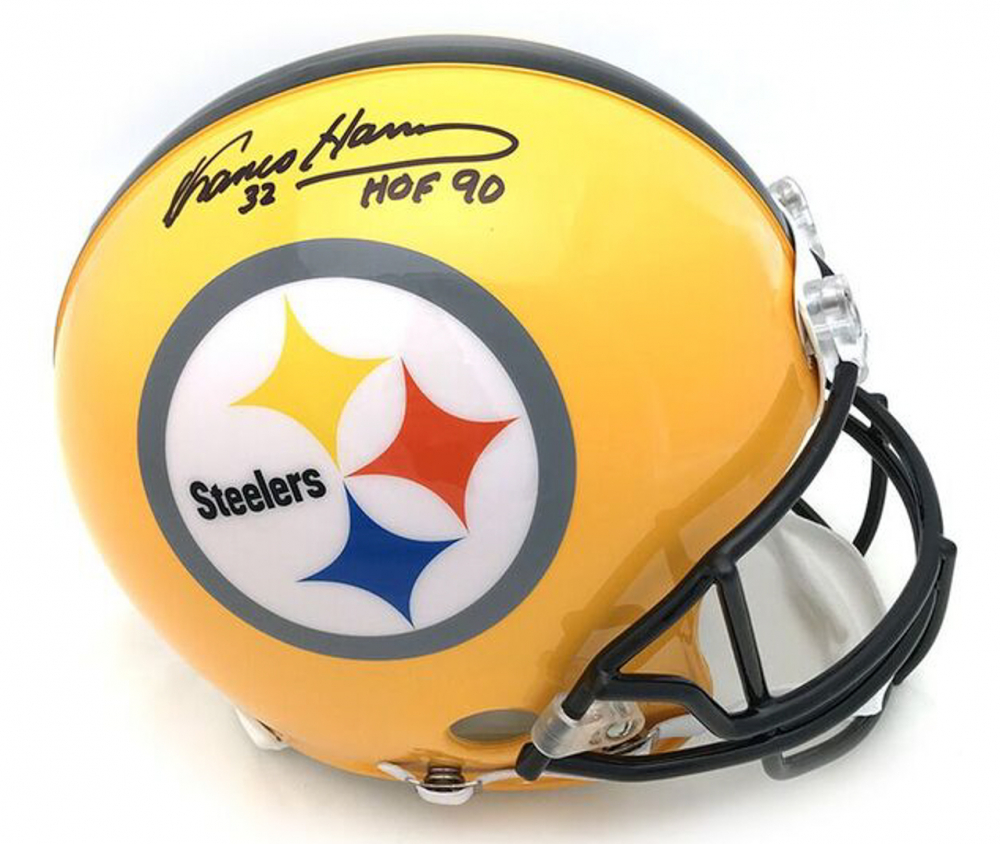 189990bee Franco Harris Signed Steelers