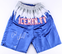 "Chuck Liddell Signed UFC ""Iceman.tv"" Trunks (Beckett COA) at PristineAuction.com"