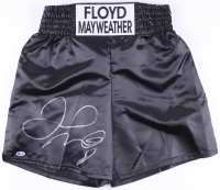 Floyd Mayweather Jr. Signed Boxing Trunks (Beckett COA) at PristineAuction.com