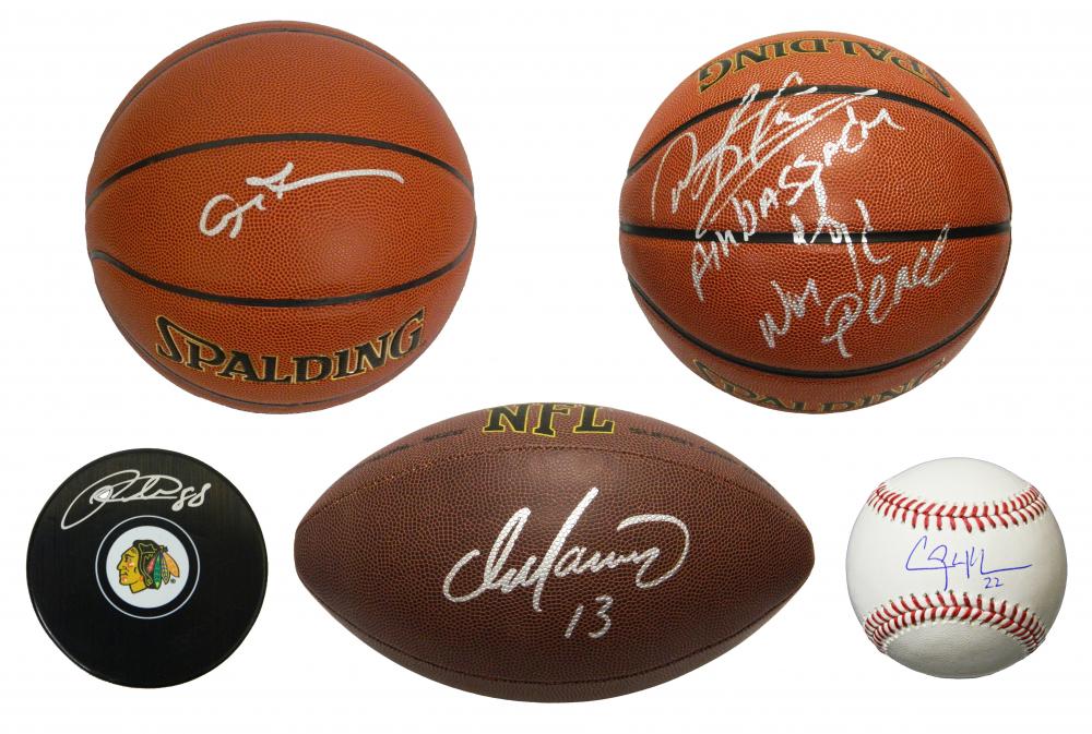 25b98ab19537 Schwartz Sports GRAND SLAM Mystery Box Series 3 – 4 Autographed Stars    Celebrity Items Per