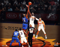 """Deandre Ayton Signed Suns """"Tip Off"""" 16x20 LE Photo (Game Day Legends COA & Steiner COA) at PristineAuction.com"""