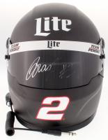 Brad Keselowski Signed NASCAR 2018 Team Penske / Lite Full-Size Helmet (PA COA)
