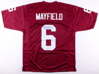 Baker Mayfield Signed Oklahoma Sooners Jersey (Beckett COA) at PristineAuction.com