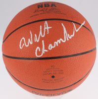 Wilt Chamberlain Signed Official NBA Game Ball (JSA LOA)