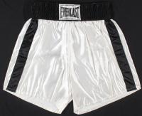 Muhammad Ali Signed Everlast Boxing Trunks (JSA LOA)