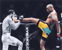 Anderson Silva Signed UFC 16x20 Photo (PSA COA)