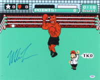 Mike Tyson Signed 'Punch-Out!' 16x20 Photo (PSA COA)