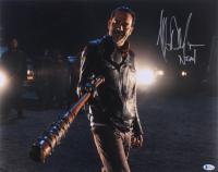 "Jeffrey Dean Morgan Signed ""The Walking Dead"" 16x20 Photo Inscribed ""Negan"" (Beckett COA) at PristineAuction.com"
