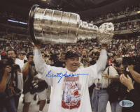 """Scotty Bowman Signed Red Wings """"Stanley Cup"""" 8x10 Photo (Beckett COA) at PristineAuction.com"""