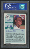 1989 Score Rookie Traded #100T Ken Griffey Jr. RC (PSA 9) at PristineAuction.com