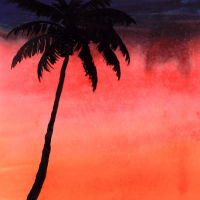"""Wyland Signed """"Paradise"""" 22x26 Custom Framed Original Watercolor Painting at PristineAuction.com"""