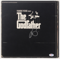 "Al Pacino Signed ""The Godfather"" Vinyl Record Album (PSA Hologram) at PristineAuction.com"