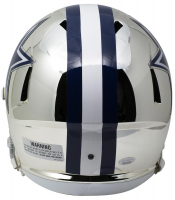 Amari Cooper Signed Cowboys Full-Size Chrome Speed Helmet (JSA COA) at PristineAuction.com