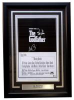 "Al Pacino Signed LE ""The Godfather"" 18x23 Custom Framed Photo Display (Beckett COA)"