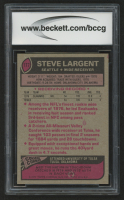 1977 Topps #177 Steve Largent RC (BCCG 9) at PristineAuction.com