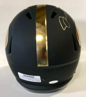 Joe Montana Signed 49ers Full-Size Black Matte Helmet (JSA COA) at PristineAuction.com
