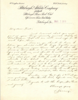 Barney Dreyfuss Signed Handwritten Letter (JSA LOA) at PristineAuction.com