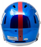 Odell Beckham Jr. Signed Giants Full-Size Chrome Speed Helmet (JSA COA) at PristineAuction.com