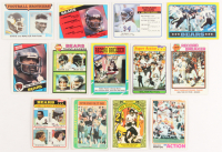 Lot of (13) Walter Payton Football Cards with 1979 Topps #132 Chicago Bears Team Leaders, 1978 Topps #3 HL, 1986 Topps 1000 Yard Club #3 at PristineAuction.com