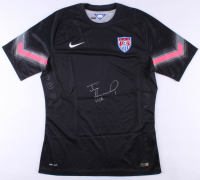 "Tim Howard Signed Team USA Goalkeeper Jersey Inscribed ""USA"" (JSA COA & Howard Hologram) at PristineAuction.com"