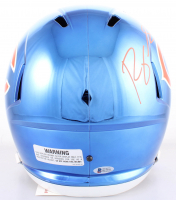 "Roquan Smith Signed Bears Full-Size Chrome Speed Helmet Inscribed ""Monsters of the Midway"" (Beckett COA) at PristineAuction.com"