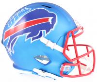 Jim Kelly Signed Bills Full-Size Speed Helmet (JSA COA)