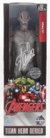 "Stan Lee Signed ""Ultron"" Avengers Marvel Titan Hero Series Figure (Radtke COA & Lee Hologram) at PristineAuction.com"