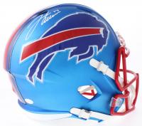 Josh Allen Signed Bills Full-Size Speed Helmet (JSA COA)