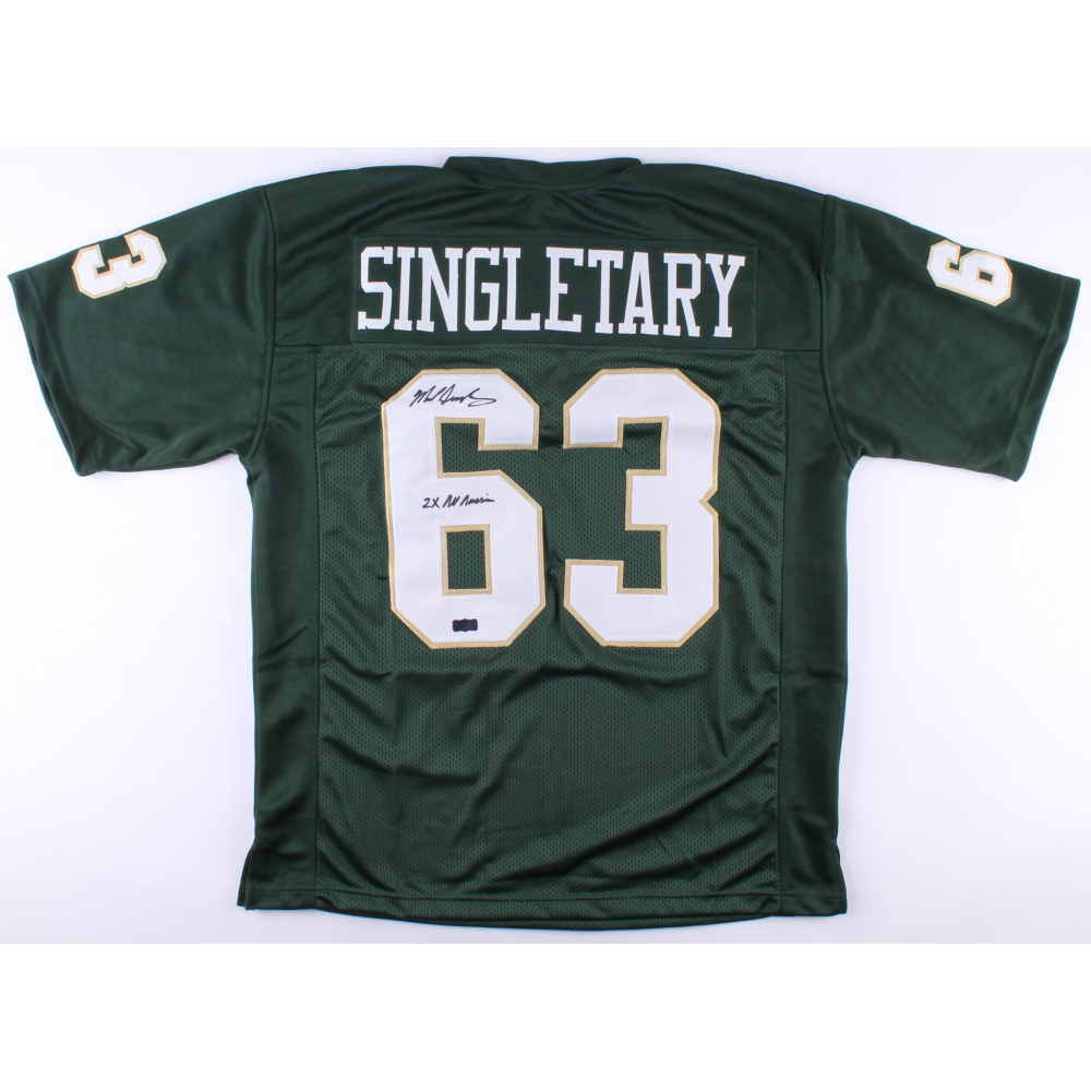 d4b9da5ebe2 Mike Singletary Signed Baylor Bears Jersey Inscribed