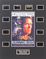 """""""The Running Man"""" Limited Edition Original Film/Movie Cell Display"""