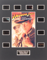 """""""Indiana Jones and the Last Crusade"""" Limited Edition Original Film / Movie Cell Display"""