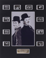 """""""Laurel and Hardy's Laughing 20's"""" 8x10 Custom Matted Original Film Cell Display"""
