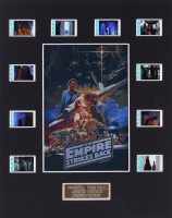 """Star Wars: Episode V – The Empire Strikes Back"" 8x10 Custom Matted Original Film Cell Display"
