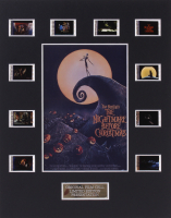 """""""The Nightmare Before Christmas"""" 8x10 Custom Matted Original Film Cell Display"""