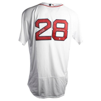 "J.D. Martinez Signed Red Sox Jersey Inscribed ""2018 WS Champs"" (Steiner COA) at PristineAuction.com"